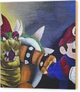 Catch The Plumber Wood Print