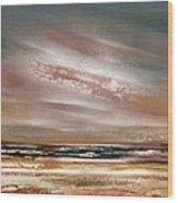 Catcleugh Reservoir Series Sunset Wood Print