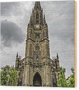 Catedral Del Buen Pastor Wood Print