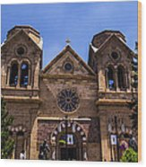 Cathedral Basilica Wood Print