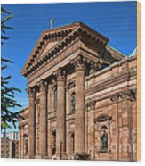 Cathedral Basilica Of Saints Peter And Paul Wood Print