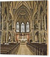 Cathedral Wood Print