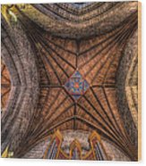 Cathedral Ceiling Wood Print