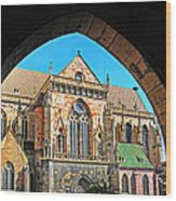 Cathedral Colmar France Wood Print