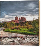 Cathedral Crossing Red Rock Wood Print