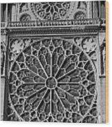 Cathedral De Notre Dame Wood Print