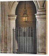 Cathedral Gate Wood Print by Brenda Bryant