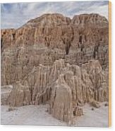 Cathedral Gorge Morning Wood Print