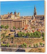 Cathedral, Medieval City, Toledo, Spain Wood Print