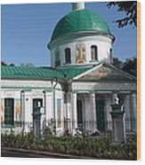 Cathedral Of Christ The Savior  Wood Print