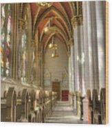 Cathedral Of Saint Helena Wood Print