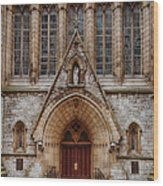 Cathedral Of Saint Joseph Wood Print