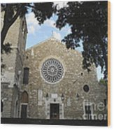 Cathedral Of San Giusto Wood Print