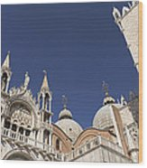 Cathedral Of San Marco  Wood Print