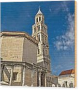 Cathedral Of Split Diocletian Palace Wood Print