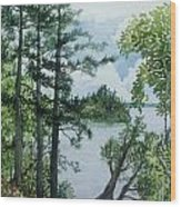 Cathedral Point - Trout Lake Wood Print
