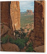Cathedral Rock 05-012 Wood Print by Scott McAllister