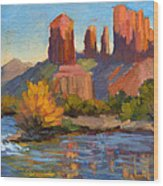 Cathedral Rock 2 Wood Print