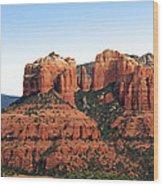 Cathedral Rock 2 Wood Print by Ellen Henneke