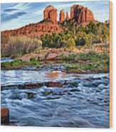 Cathedral Rock II Wood Print