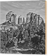 Cathedral Rocks Red Rock State Park Arizona Wood Print