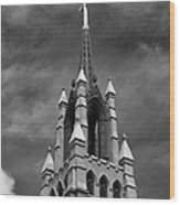 Cathedral Spire Wood Print