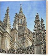 Cathedral Spires Wood Print