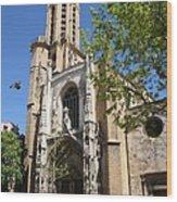 Cathedral St Sauveur - Aix En Provence Wood Print