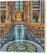Cathedral Way Wood Print by Adrian Evans