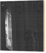 Cathedral Window Wood Print