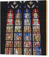 Cathedrale D'aix En Provence.france Wood Print