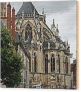 Cathedrale Saint - Cyr - Et - Sainte - Julitte De Nevers Wood Print