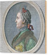 Catherine II Of Russia (1729-1796) Wood Print