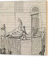 Cato Street Conspiracy Executions, 1820 Wood Print