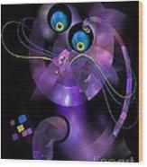 Cats 006-13 - Marucii Wood Print