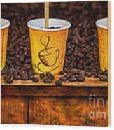 Caution... Contents Hot Wood Print by Susan Candelario