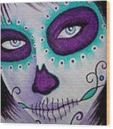 Cautivado Por La Belleza Raven Wood Print