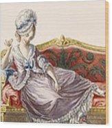 Cavaco A La Polonaise, Engraved Wood Print