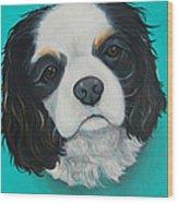 Cavalier King Charles Spaniel Izzi Wood Print