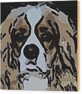 Cavalier Spaniel Wood Print