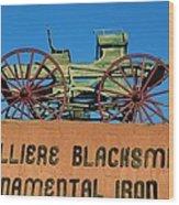 Cavalliere Blacksmith  Wood Print
