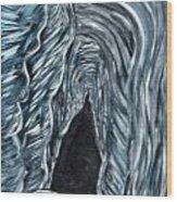 Cave 2 Wood Print