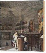 Cave Chapel Wood Print