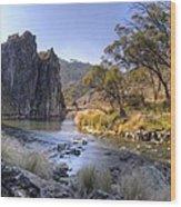 Cave Creek Gorge Wood Print