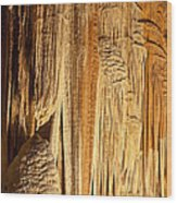 Cave Details Wood Print