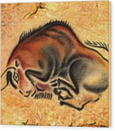 Cave Painting Wood Print