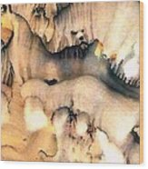 Cave Paintings Wood Print