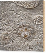 Cave Pearls Wood Print by Melany Sarafis