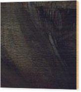 Cavern Darkness Wood Print