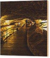 Cavern Path 2 Wood Print